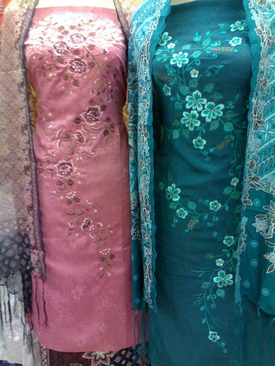 set kurung semi silk